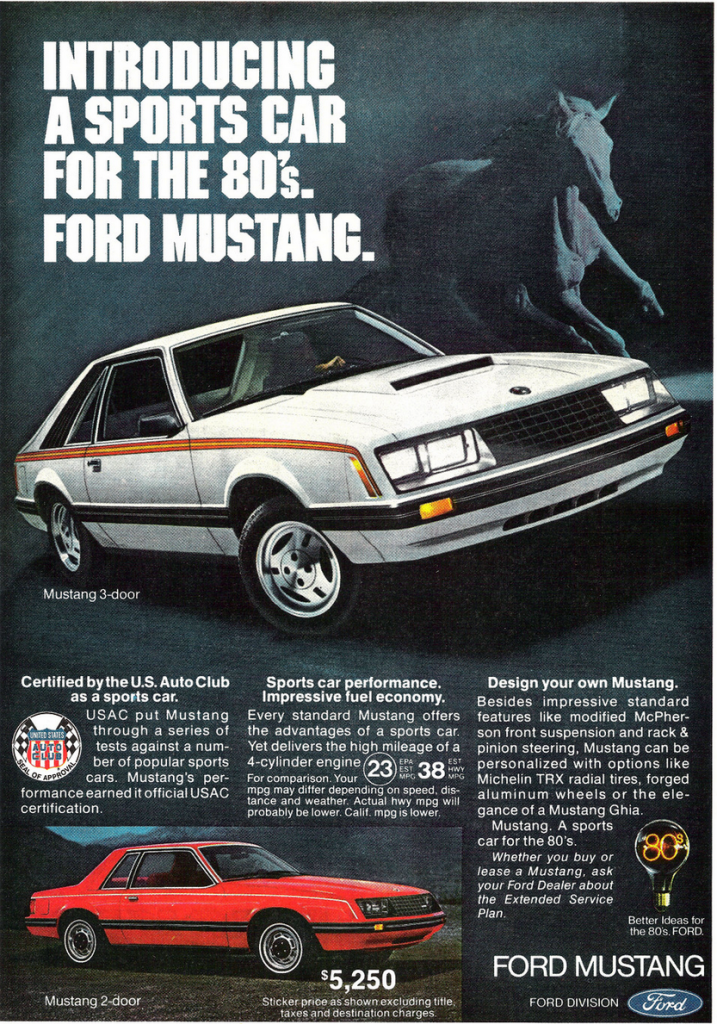 1979 Ford Mustang Ad