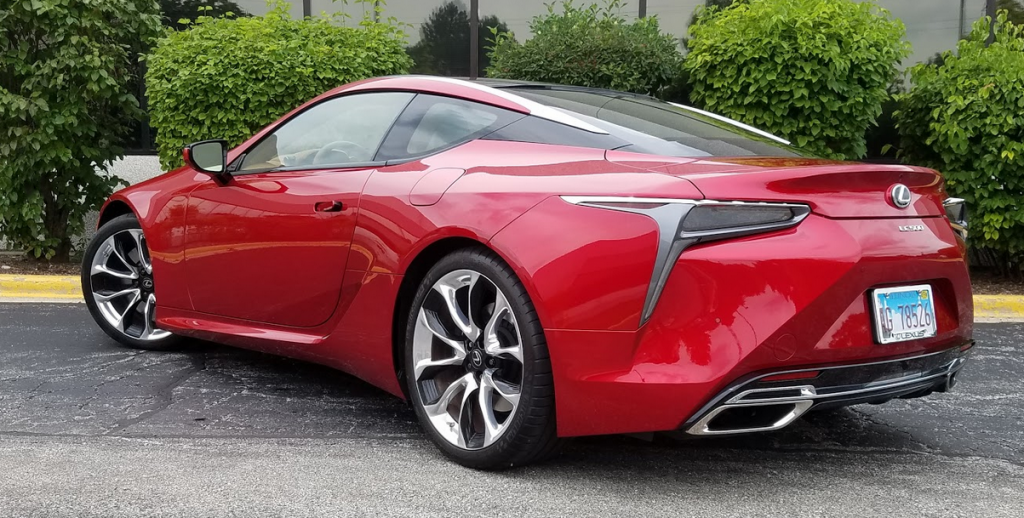 2018 Lexus LC 500 in Infrared