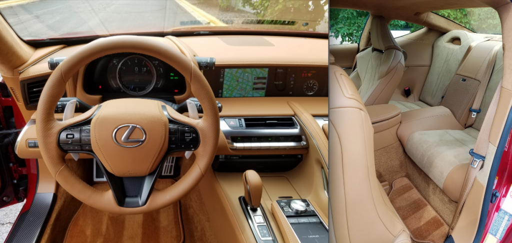 Lexus Lc 500 Interior >> Test Drive 2018 Lexus Lc 500 The Daily Drive Consumer