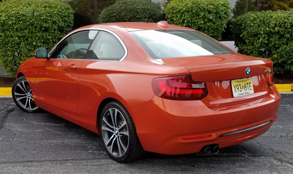 BMW 2-Series Valencia Orange