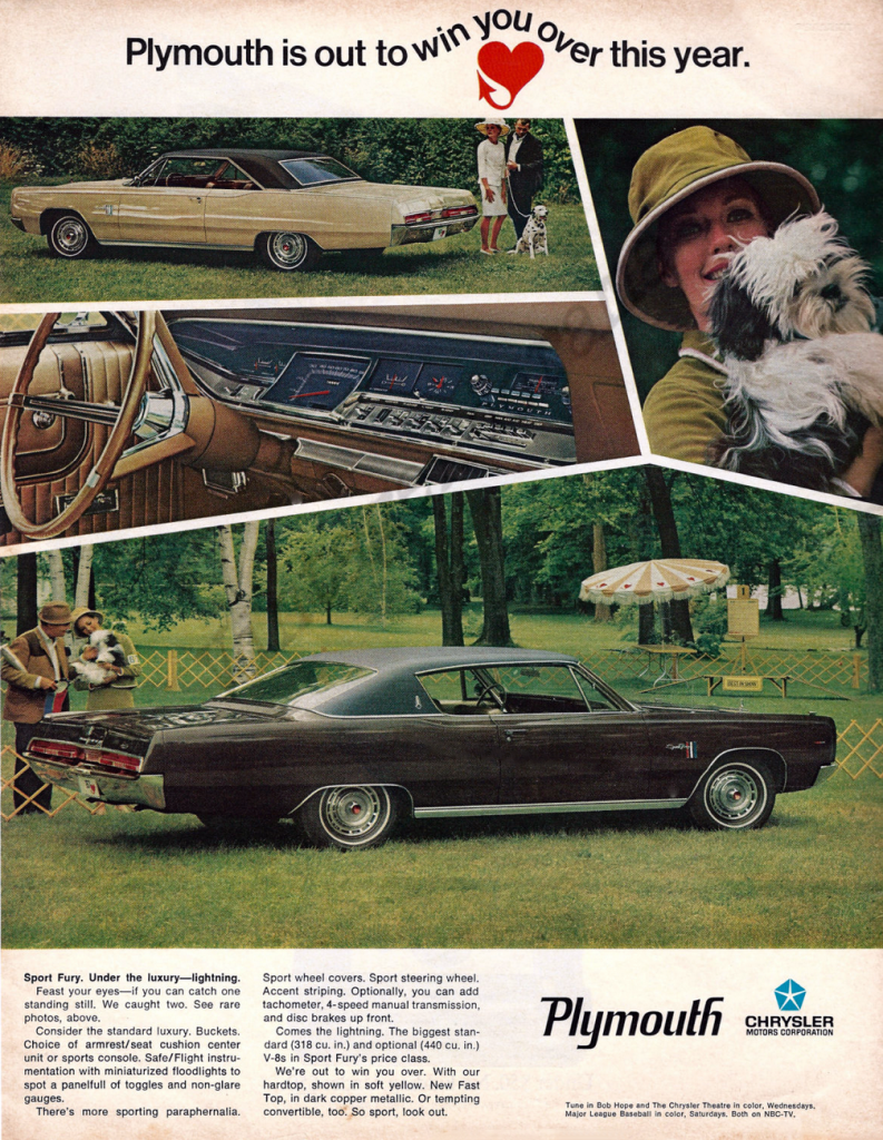 1967 Plymouth Ad