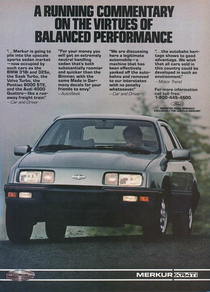 Dead-Brand Madness: 10 Classic Car Ads from the 80s and 90s | The Daily Drive | Consumer Guide ...