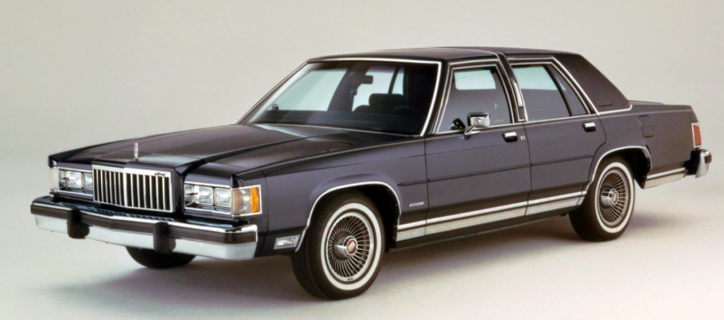 1986 Mercury Grand Marquis