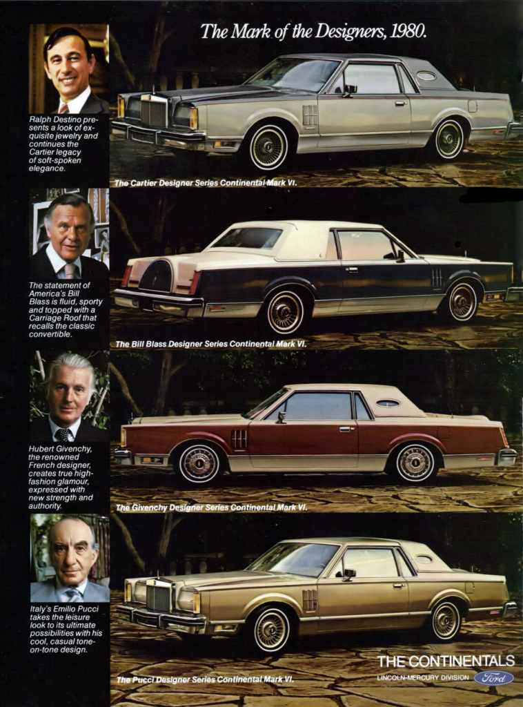 1980 Lincoln Mark VI Ad