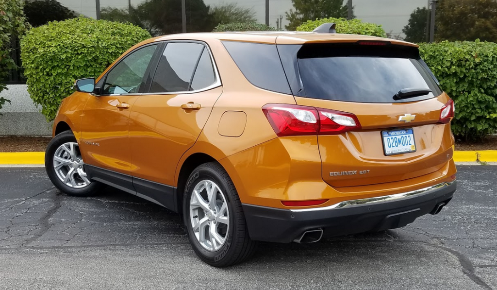2018 Chevrolet Equinox in Orange Burst