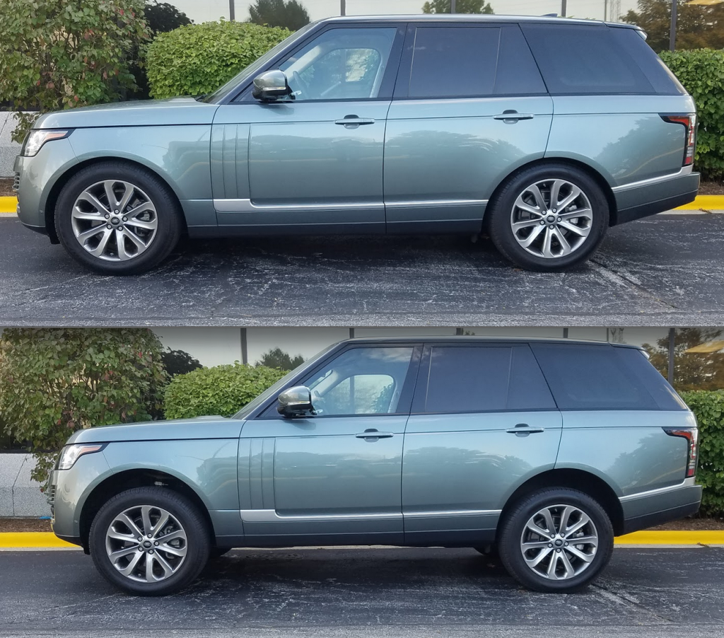 2017 Range Rover air suspension