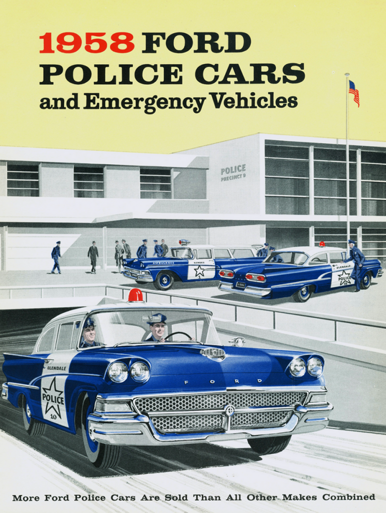 1958 Ford Police Vehicle Brochure
