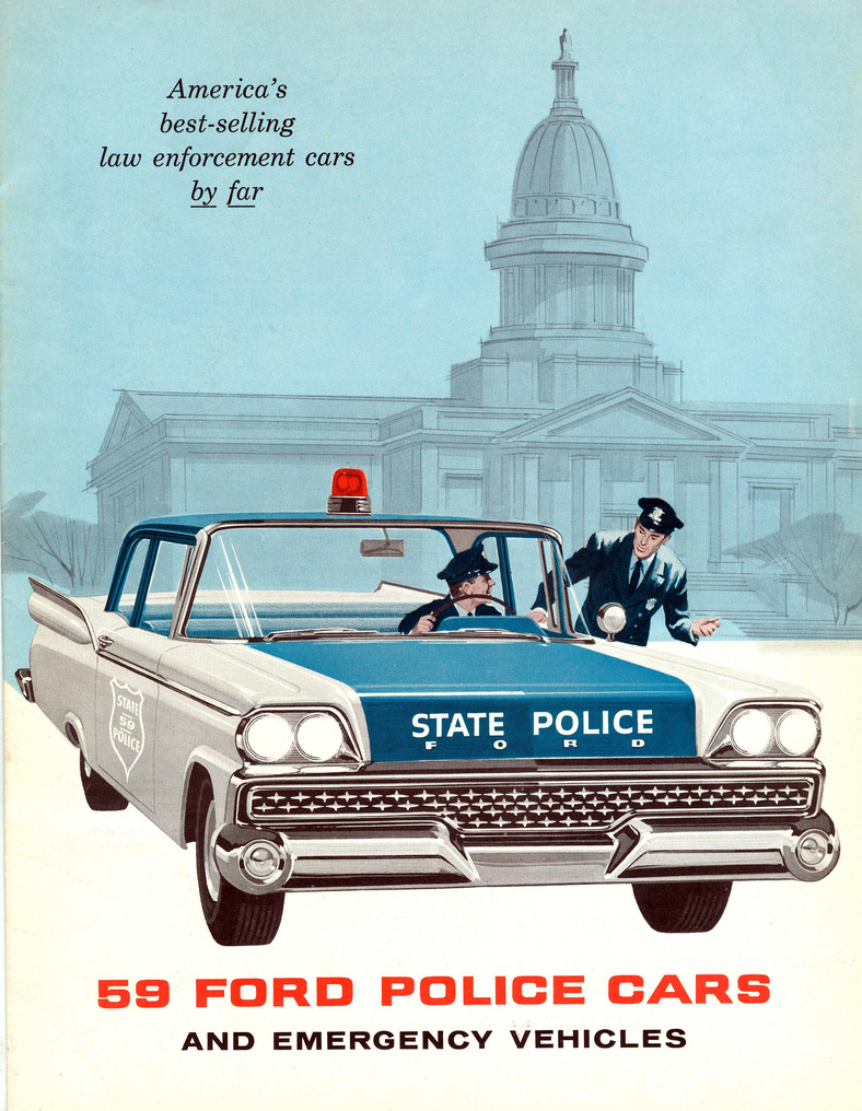 1959 Ford Police Vehicle Brochure