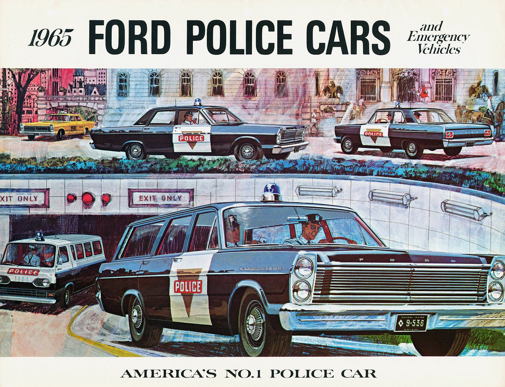 1965 Ford Police Vehicle Brochure