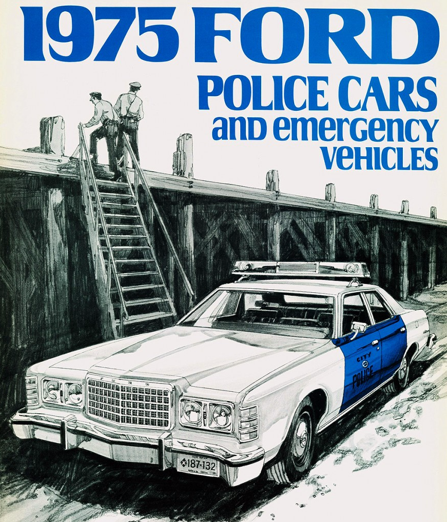 1975 Ford Police Vehicle Brochure