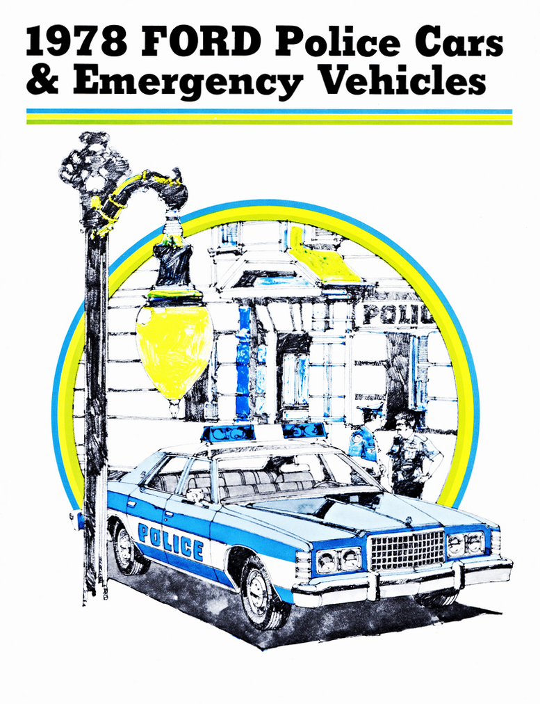 1978 Ford Police Vehicle Brochure