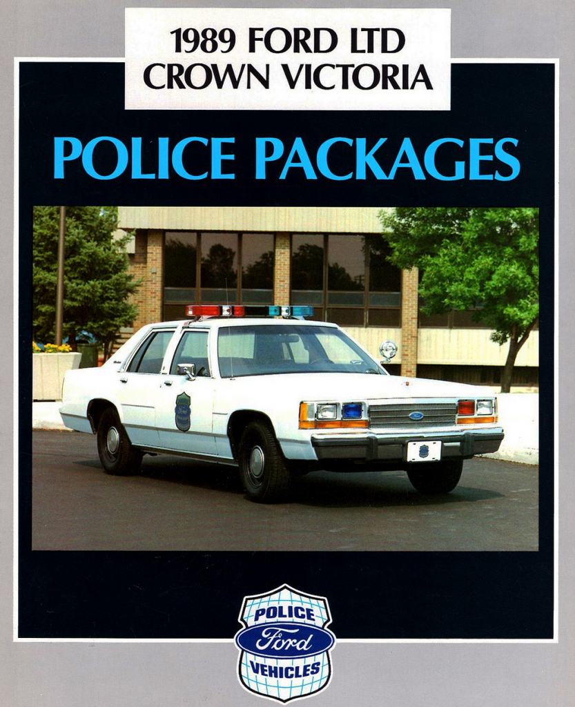 1989 Ford Police Vehicle Brochure