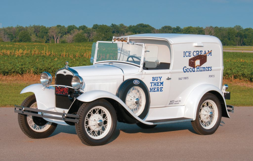 1931 Ford Model A Ice Cream Truck