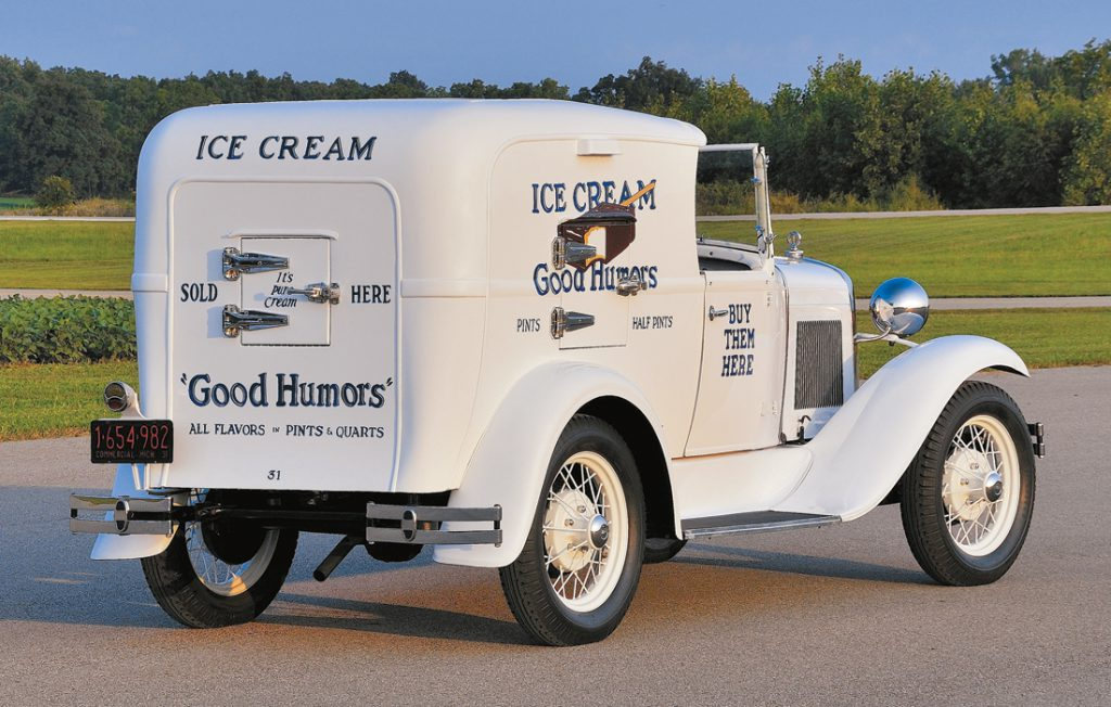 photo feature  1931 ford model a ice cream truck