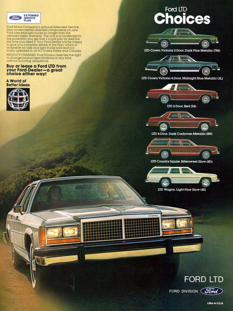 1981 Ford LTD Ad