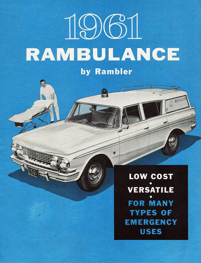 1961 Rambler Ambulance
