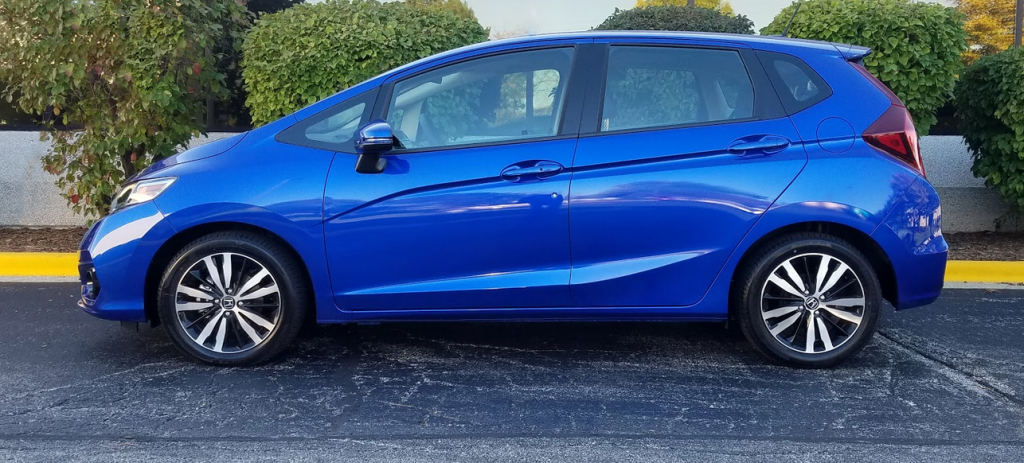 2018 Honda Fit, profile