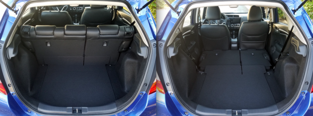 2018 Honda Fit Cargo Area