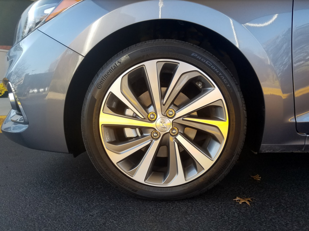 2018 Hyundai Accent Wheel