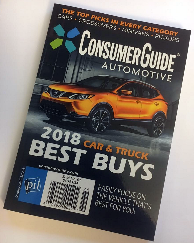 2018 Consumer Guide Best Buys