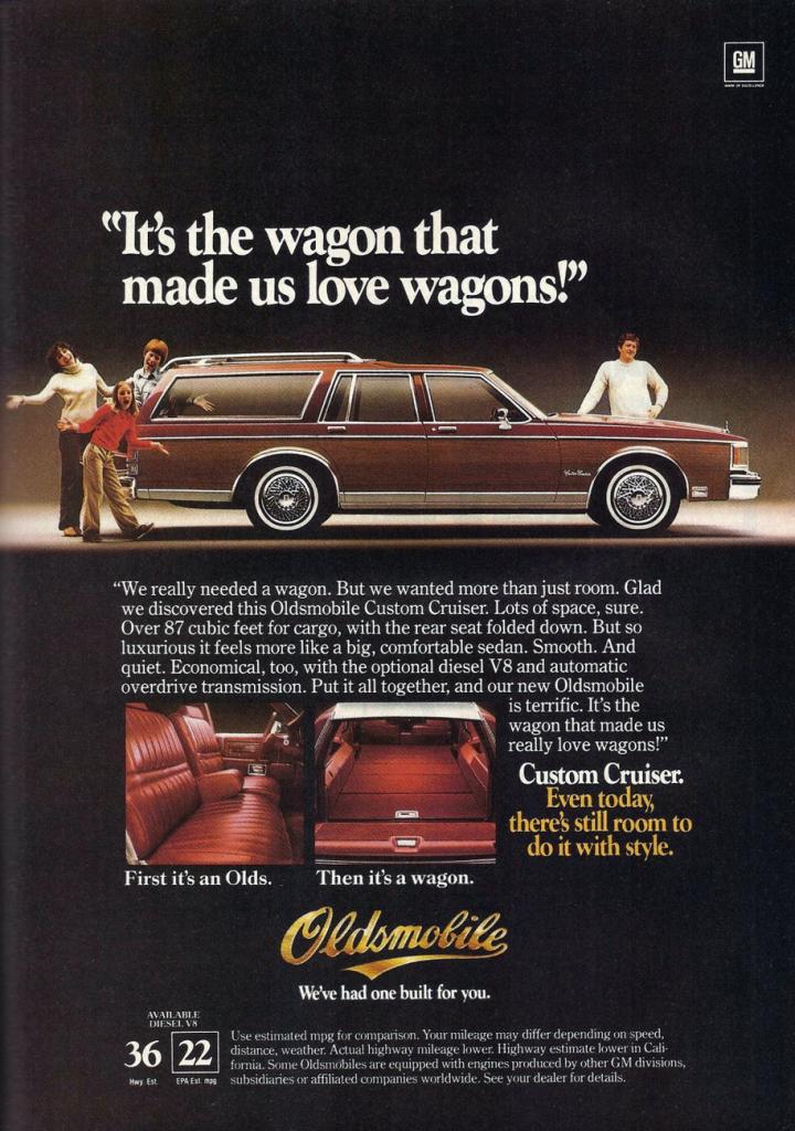 1982 Oldsmobile Custom Cruiser