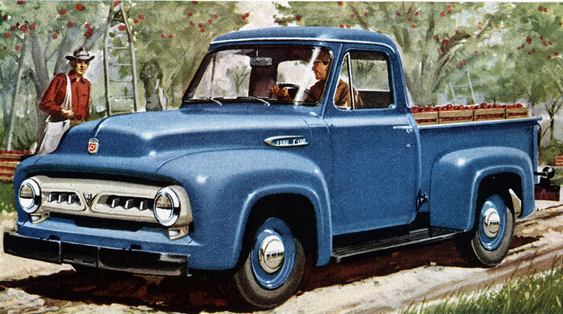 1953-56 Ford F-100