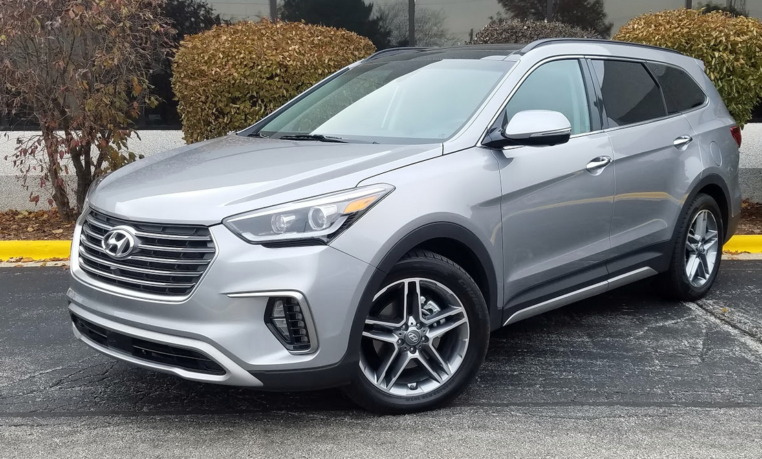 Test Drive 2018 Hyundai Santa Fe Limited Ultimate The