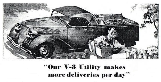 Ford Roadster Utility