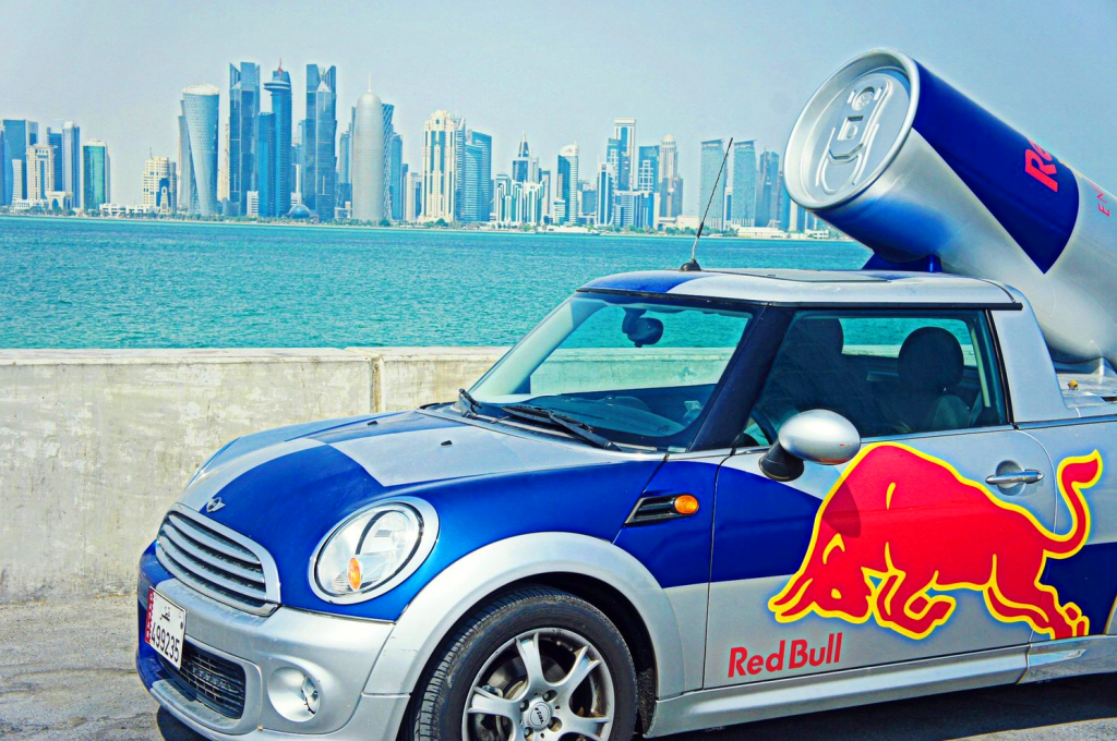 "Red Bull ""Wings Team"" Mini Cooper"