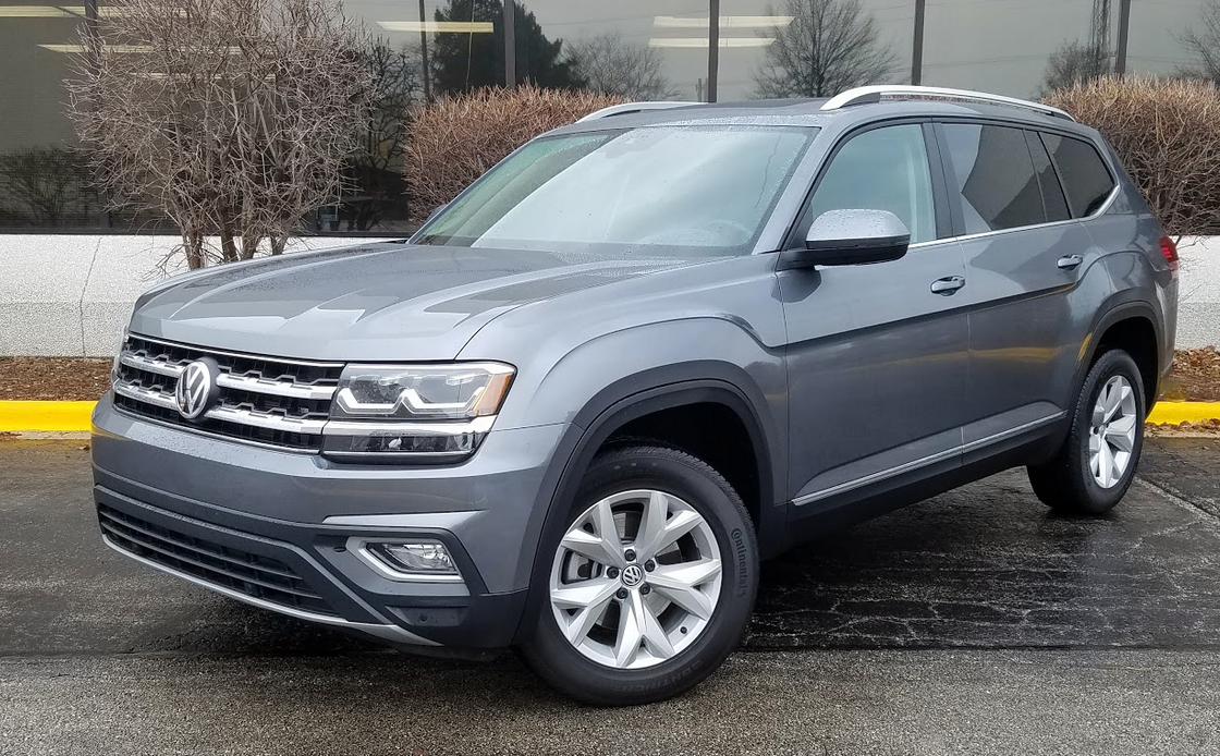 test drive  volkswagen atlas  sel  daily drive consumer guide  daily drive