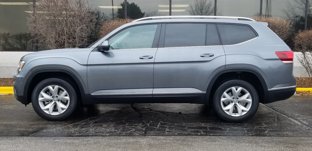 Volkswagen Atlas in Platinum Grey