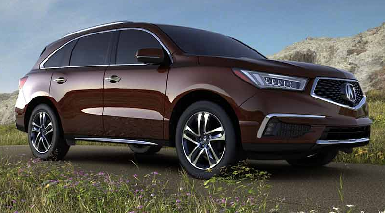 2017 Acura MDX, Best Selling Vehicles of 2017