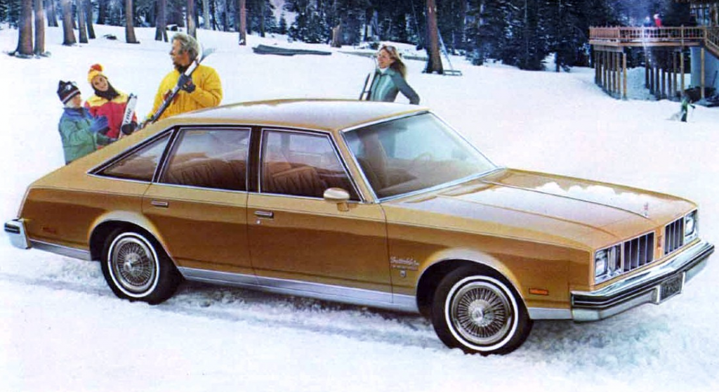 1978 Oldsmobile Aeroback, General Motors Aerobacks