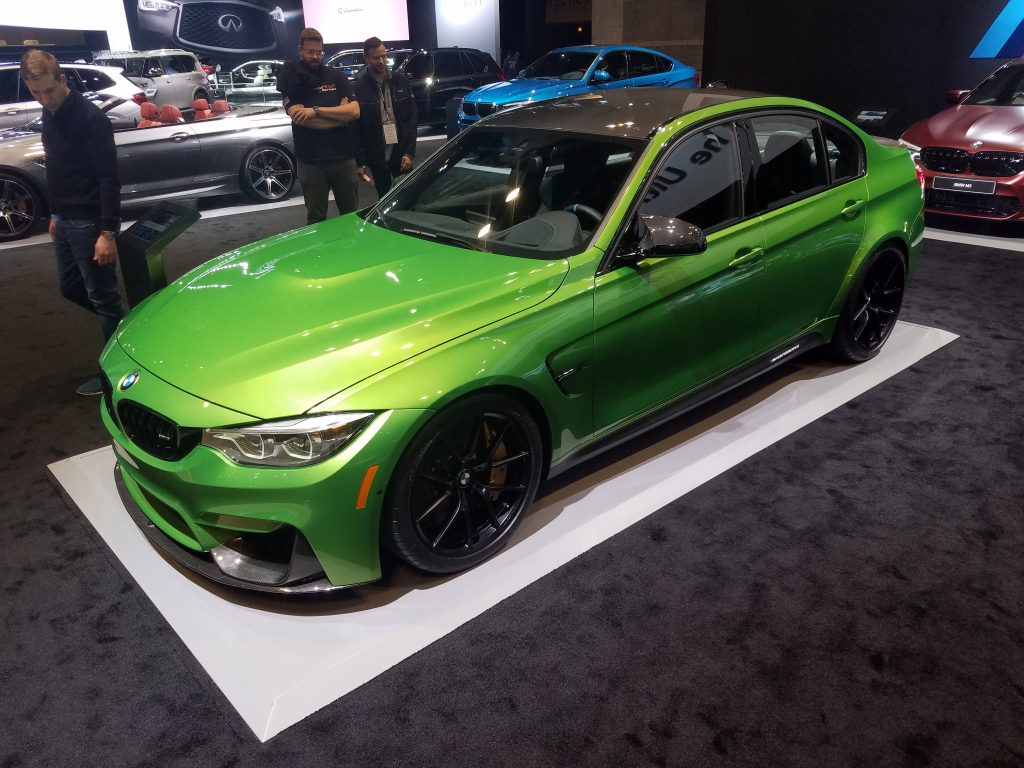 2018 BMW M3 (accessorized) in Java Green