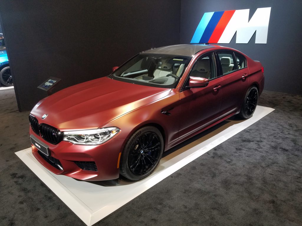 2018 BMW M5 First Edition in Frozen Dark Red