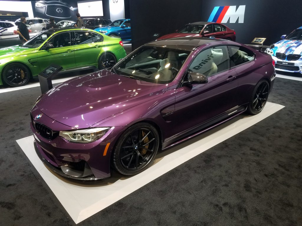 2018 BMW M4 (accessorized) in Purple Silk