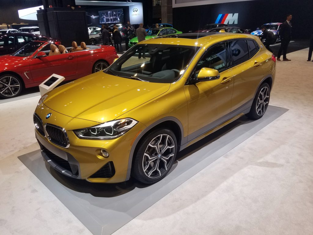 2018 BMW X2 in Galvanic Gold