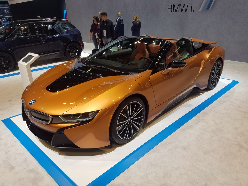 2019 BMW i8 Roadster in E-Copper