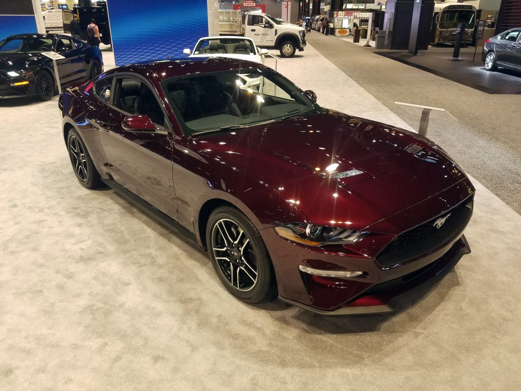 2018 Ford Mustang in Royal Crimson Metallic