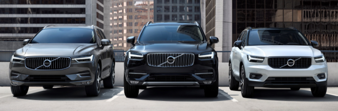 2019 Volvo crossovers