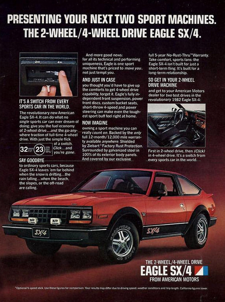 Car Ads From 1982