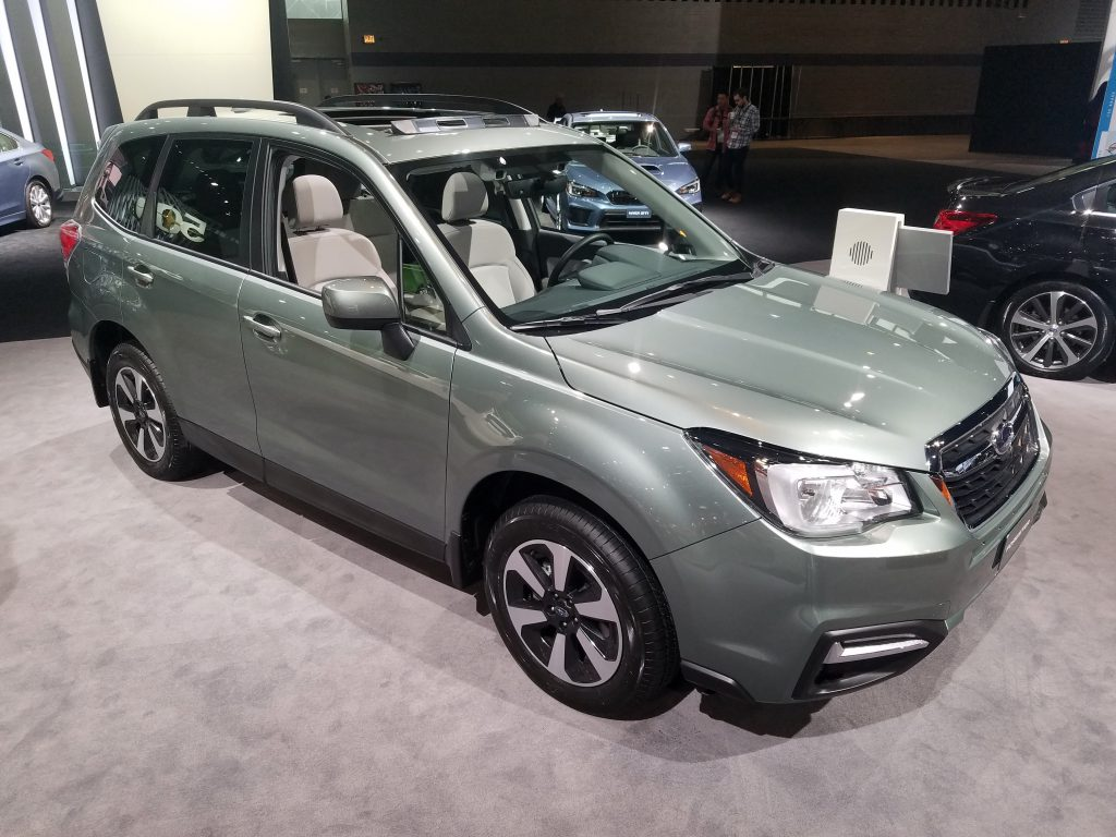 2018 Subaru Forester in Jasmine Green Metallic