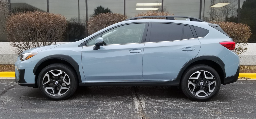 test drive  2018 subaru crosstrek limited