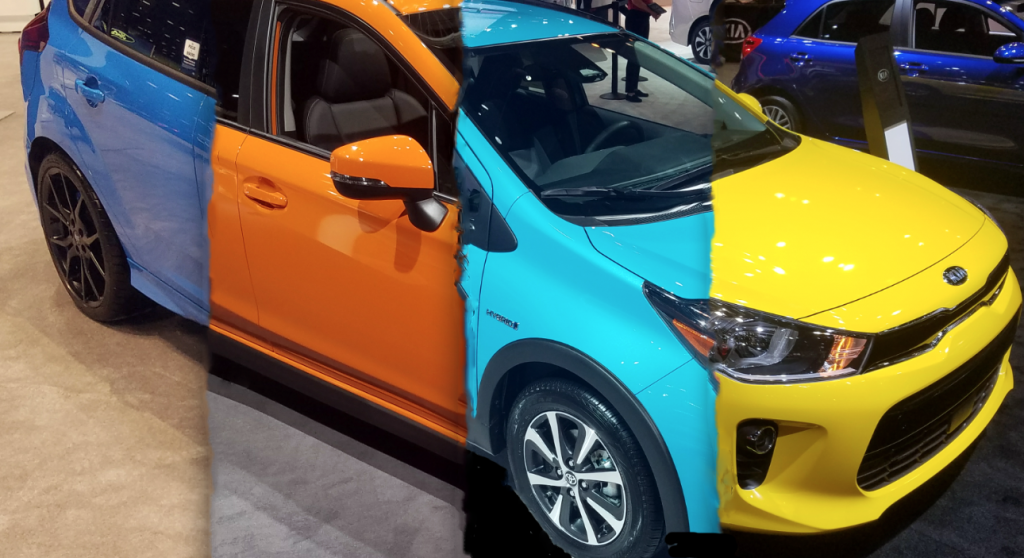 Car Paint Colors >> Local Color Unusual Paint Hues At The 2018 Chicago Auto