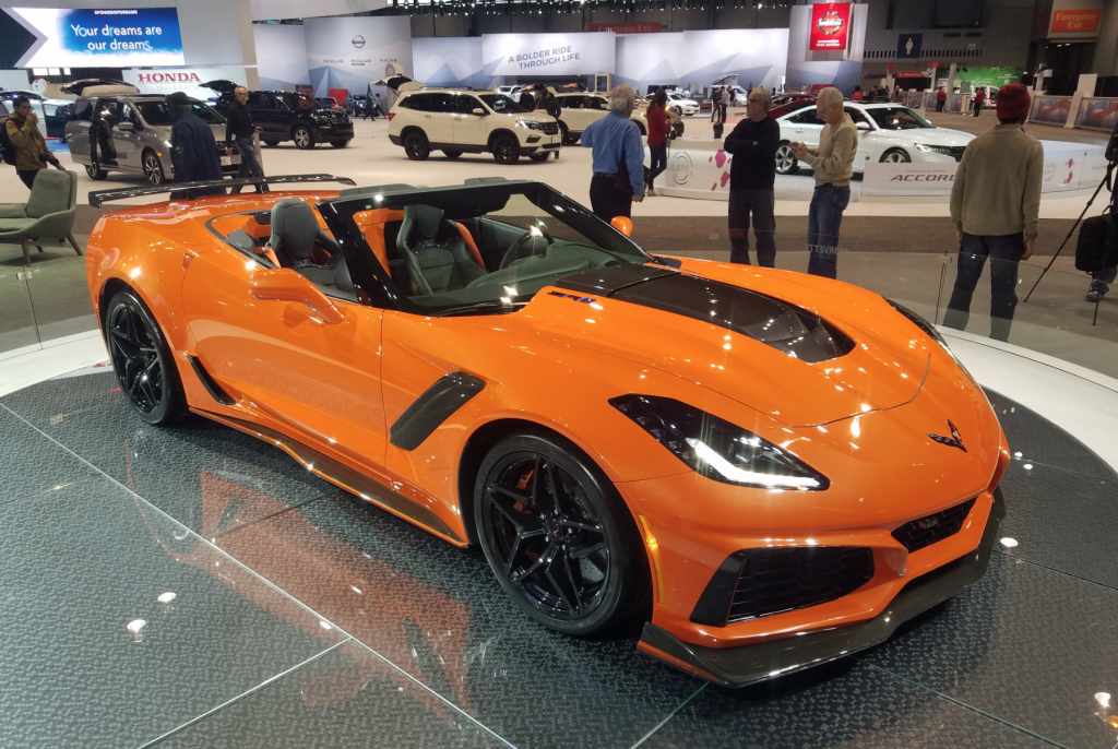 2019 Chevrolet Corvette ZR1 Convertible in Sebring Orange