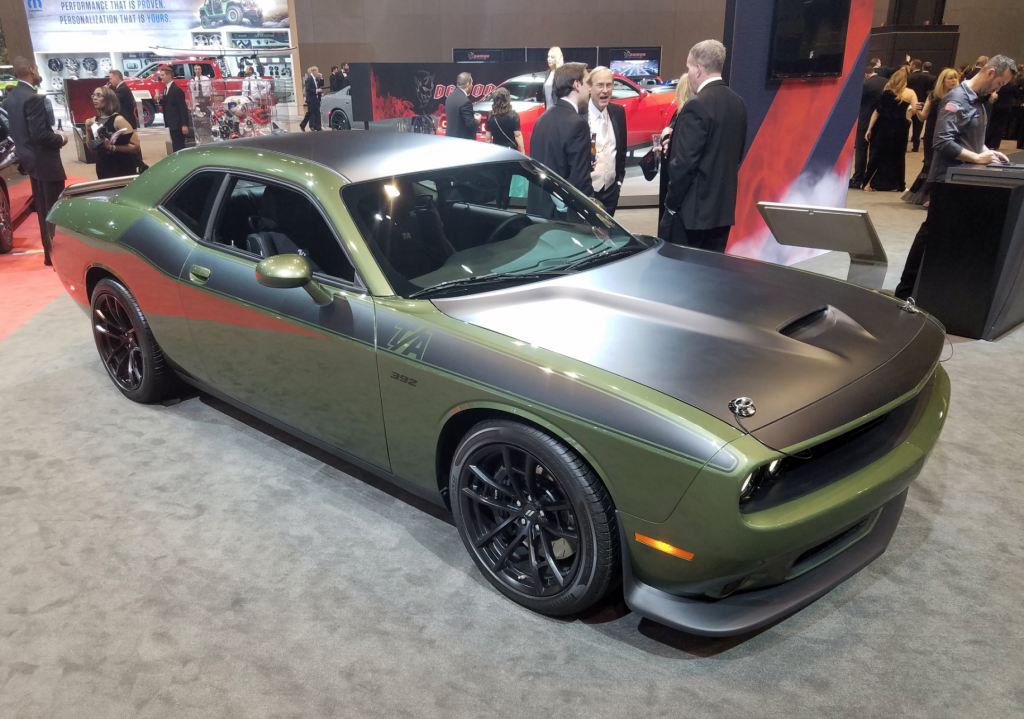 2018 Dodge Challenger T/A 392 in F8 Green