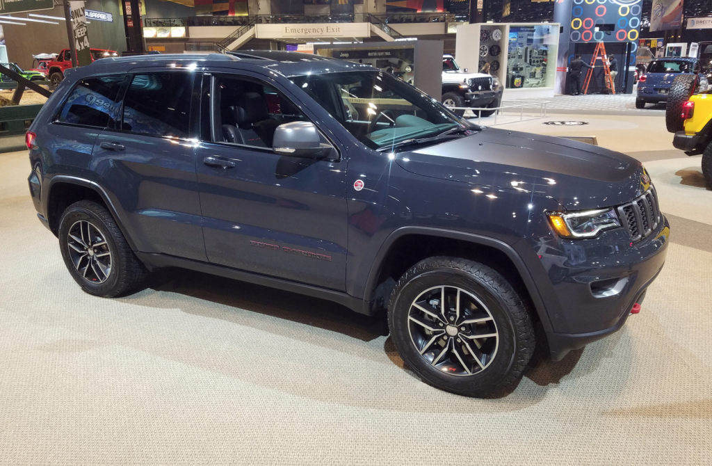 2018 Jeep Grand Cherokee Trailhawk in Rhino
