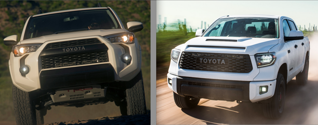 Toyota 4Runner and Tundra TRD Pro