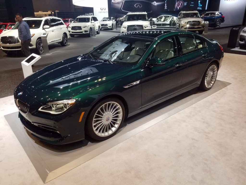 2018 BMW ALPINA B6 Gran Coupe in ALPINA Green
