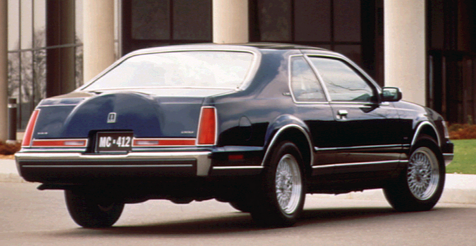 1990 Lincoln Continental Mark VII LSC